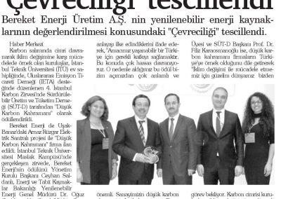 Hizmet Gazetesi (Denizli) 28.04.2017