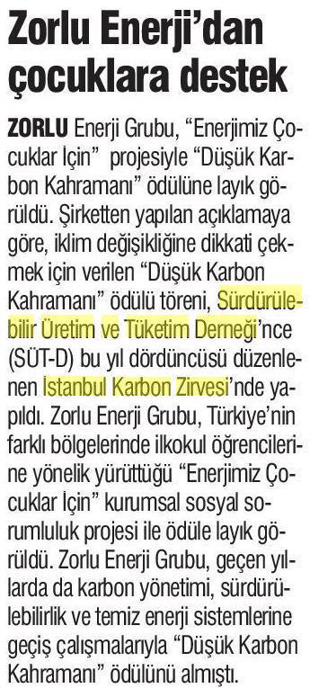 Türkiye'de YeniÇag 29.04.2017