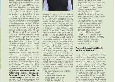 Yeni Enerji Dergisi 01.03.2017 s45