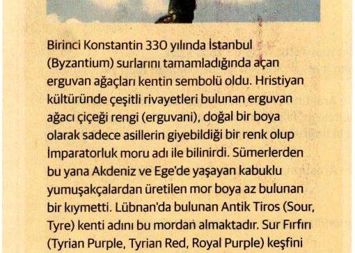 İstanbulun Çiçekleri, Sürdürülebilir Yaşam 07.04.2016