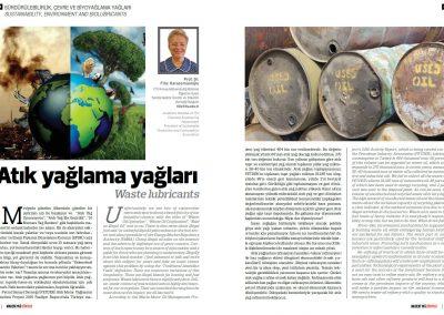 Madeni Yağ Dünyası Dergisi 01.09.2017
