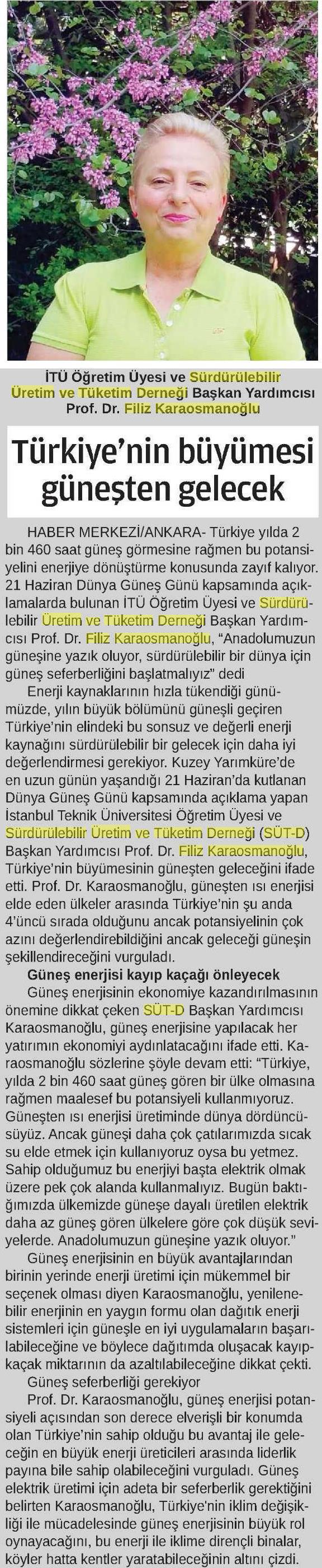 24 Saat Gazetesi 21.06.2016