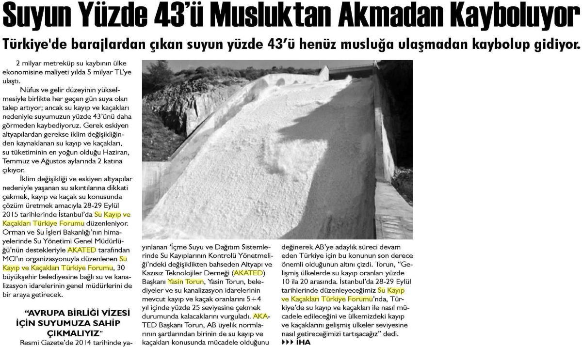 Adalet Gazetesi 12.09.2015