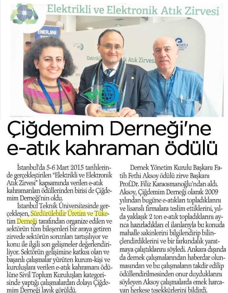 Ankara Milliyet 11.03.2015