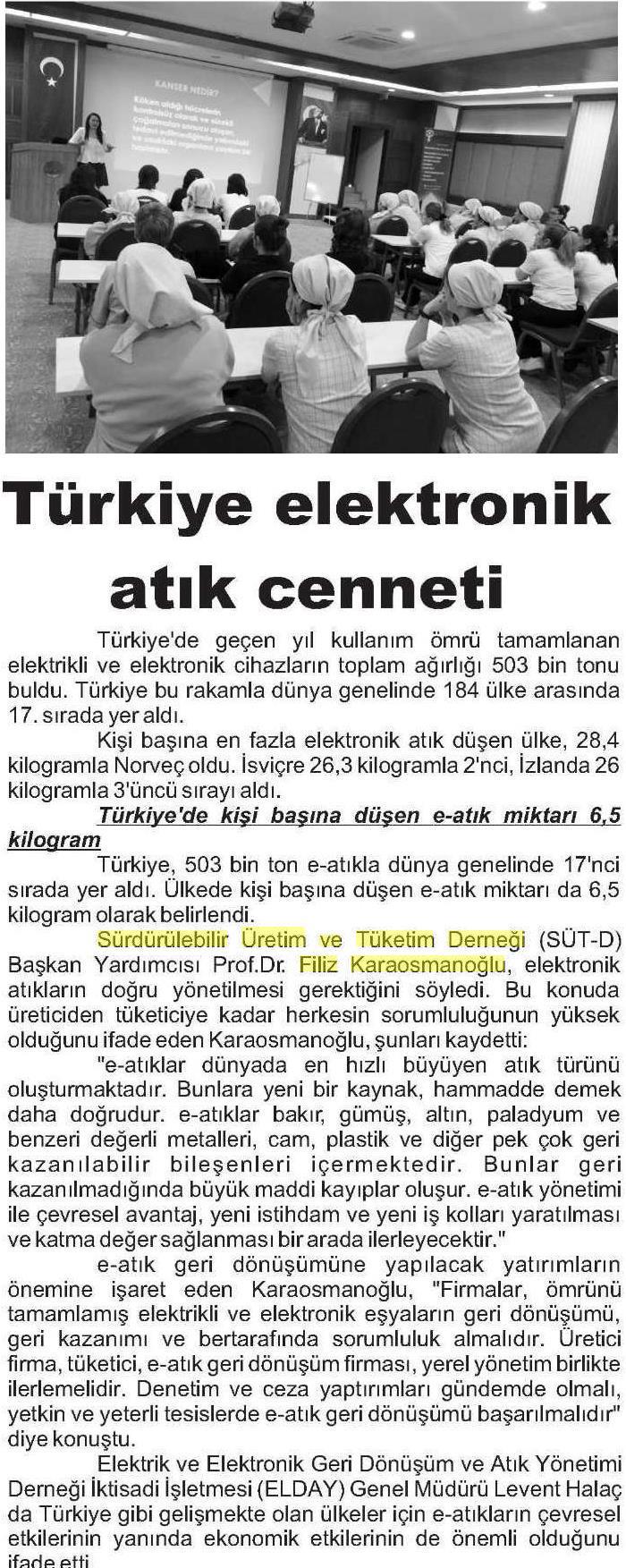 Antalya Ekonomi Gazetesi 25.04.2015