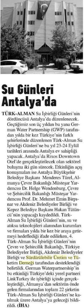 Antalya Körfez 23.03.2014