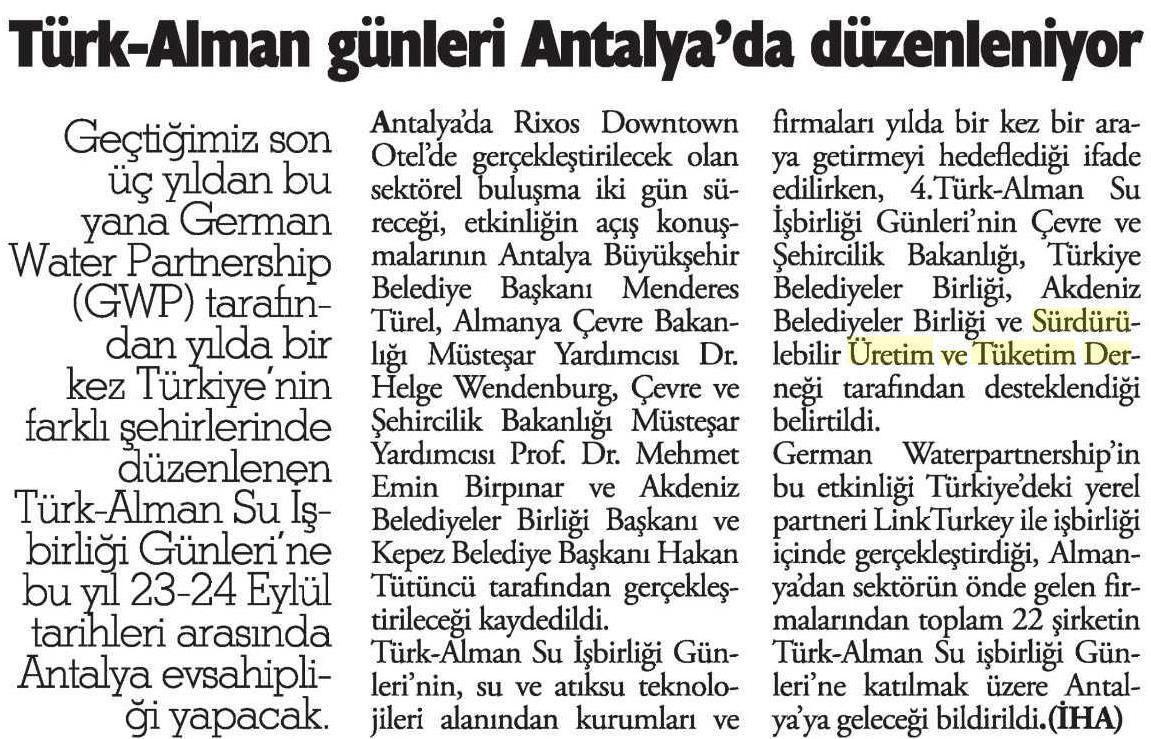 Antalya Son Haber-23.03.2014