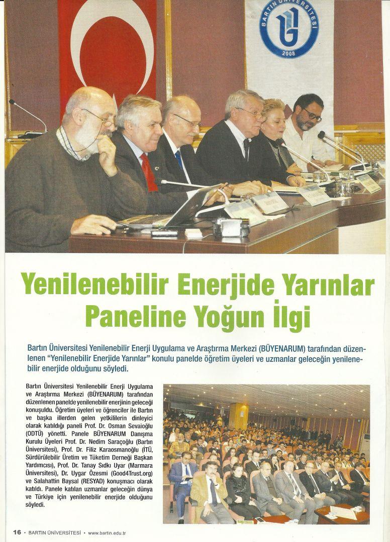 Bartın Üniversitesi Bülten 01.12.2014 s16