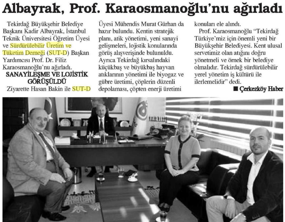 Çerkezköy Haber 07.04.2015