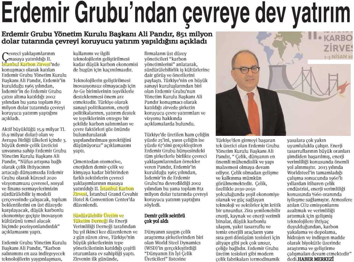 Ekonomi Gazetesi 06.04.2015