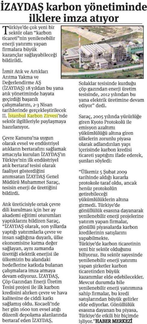 Ekonomi Gazetesi 12.03.2015