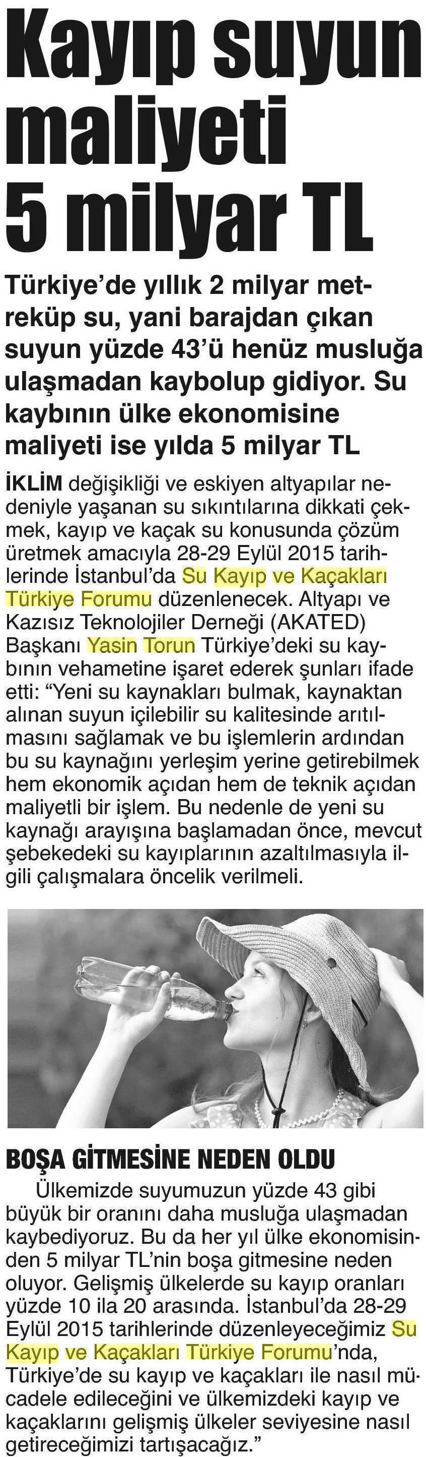 Gazete Gerçek 11.09.2015