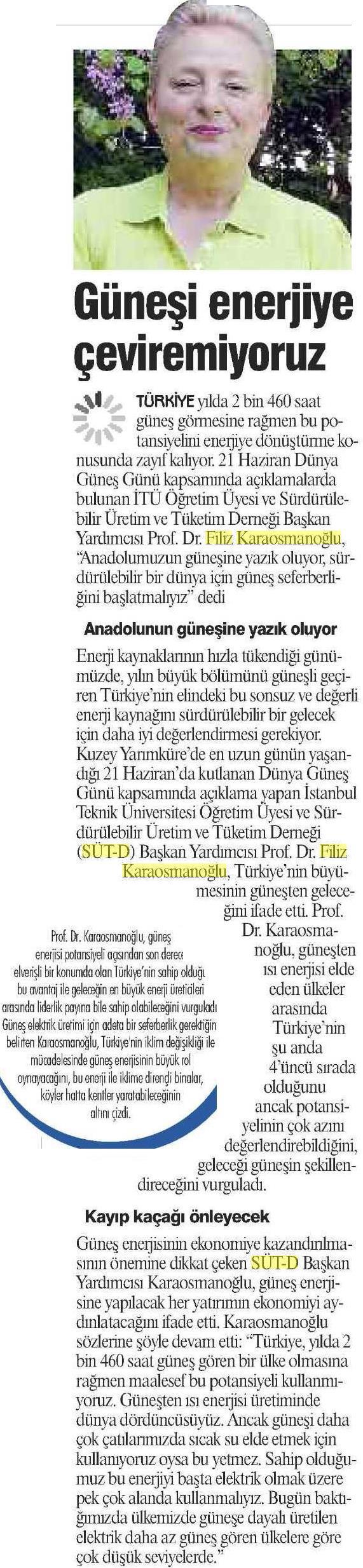 Gazetem İstanbul 21.06.2016