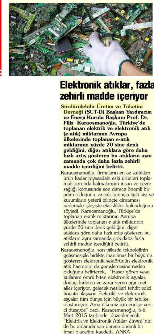 Gaziantep Sabah Gazetesi 04.11.2014