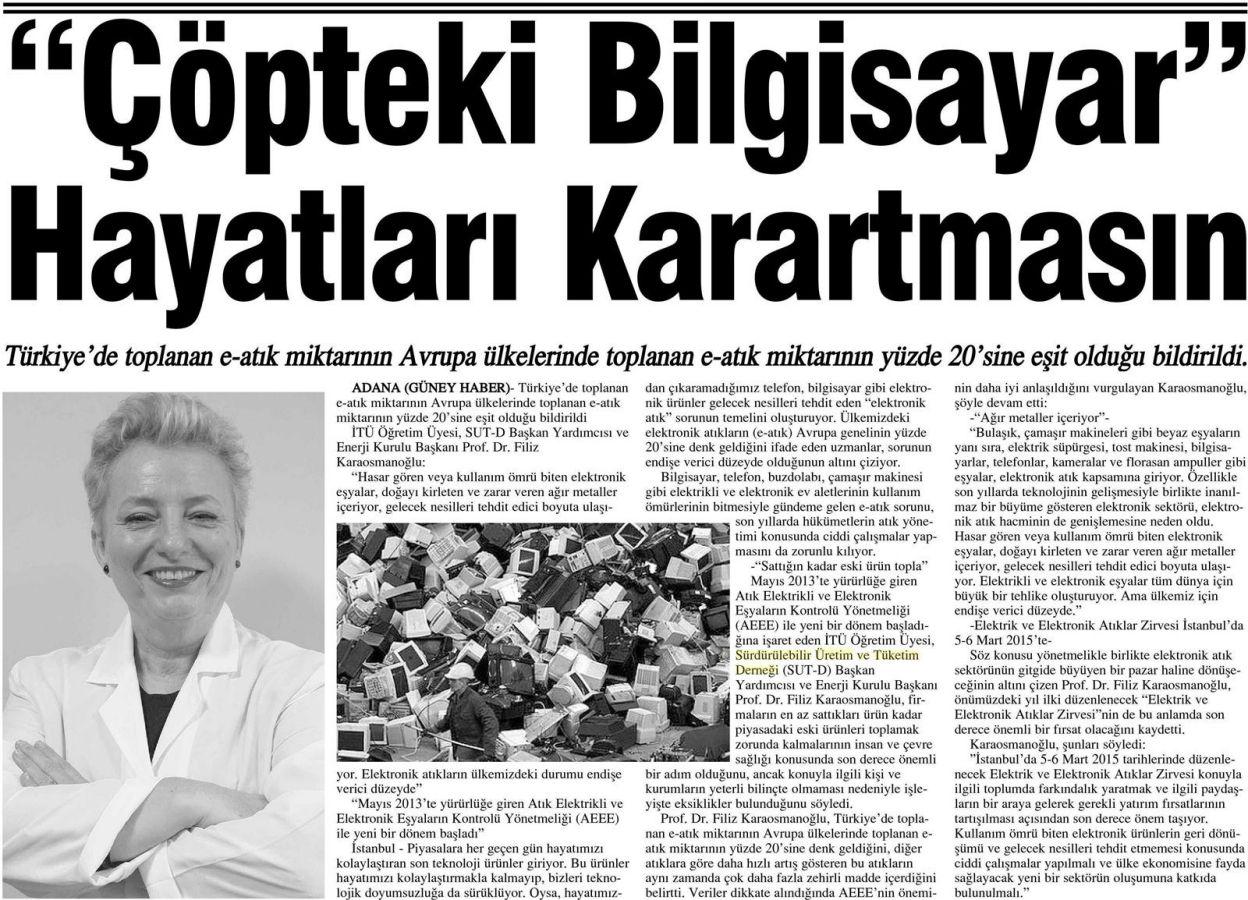 Güney Haber Adana 04.11.2014