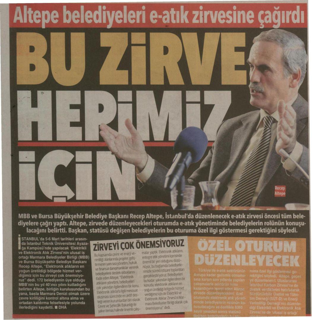 Hürriyet Bursa 22.02.2015