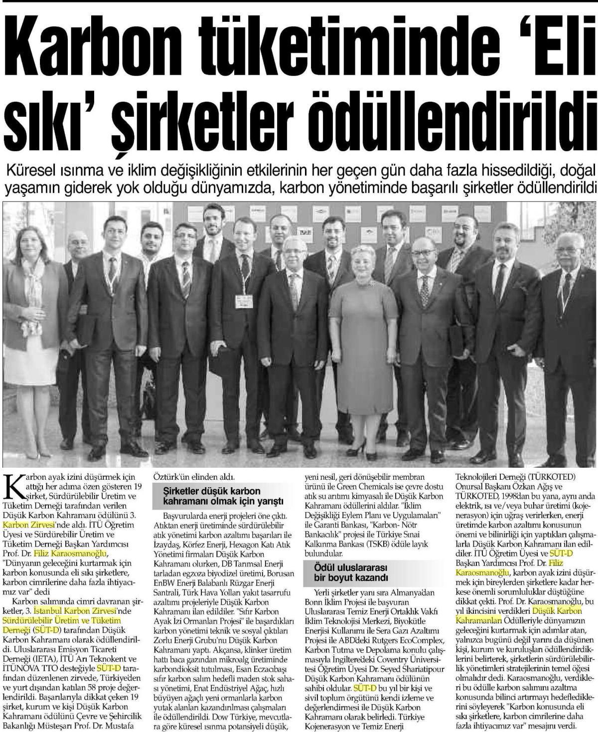 İstanbul Gazetesi 16.04.2016