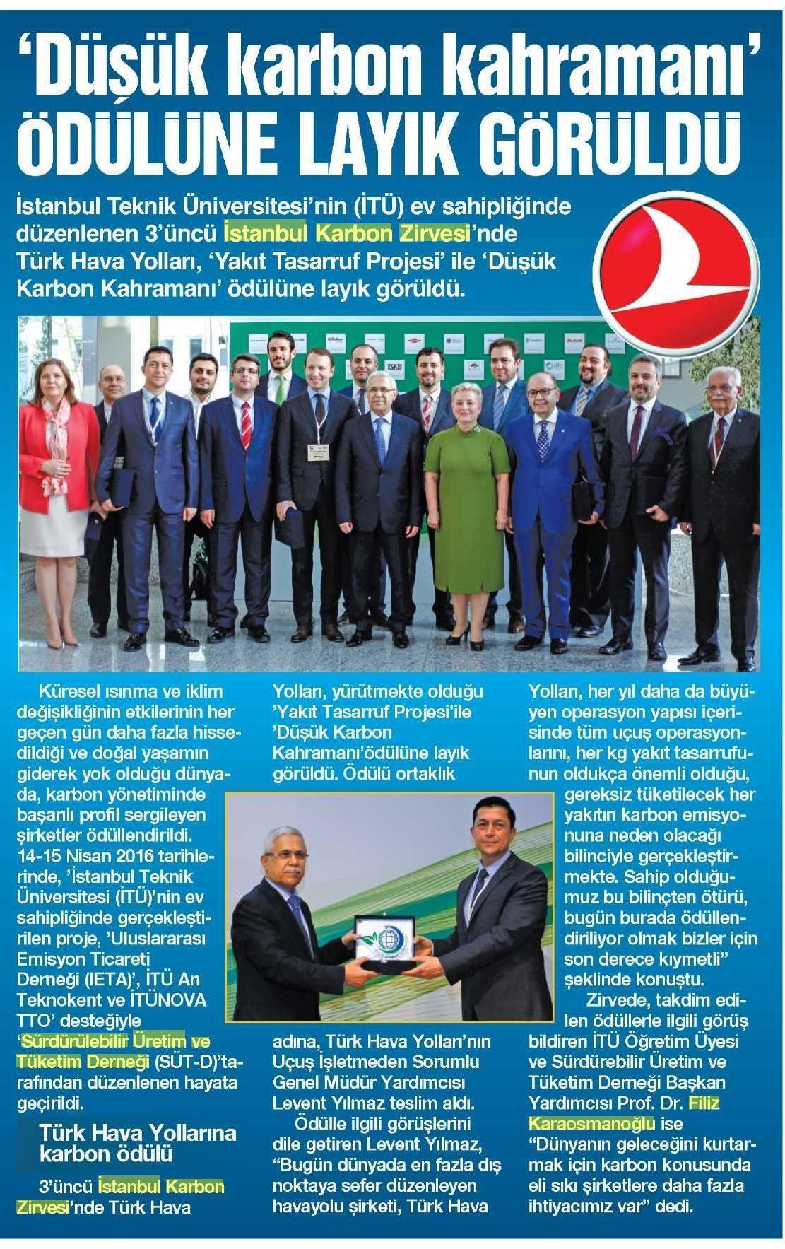 İstanbul Gazetesi 23.04.2016