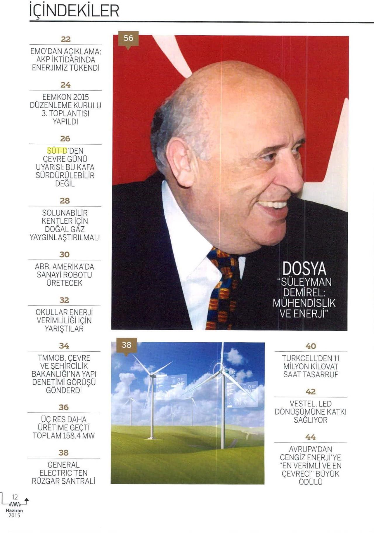 Kaynak Elektrik Dergisi 01.06.2015 1