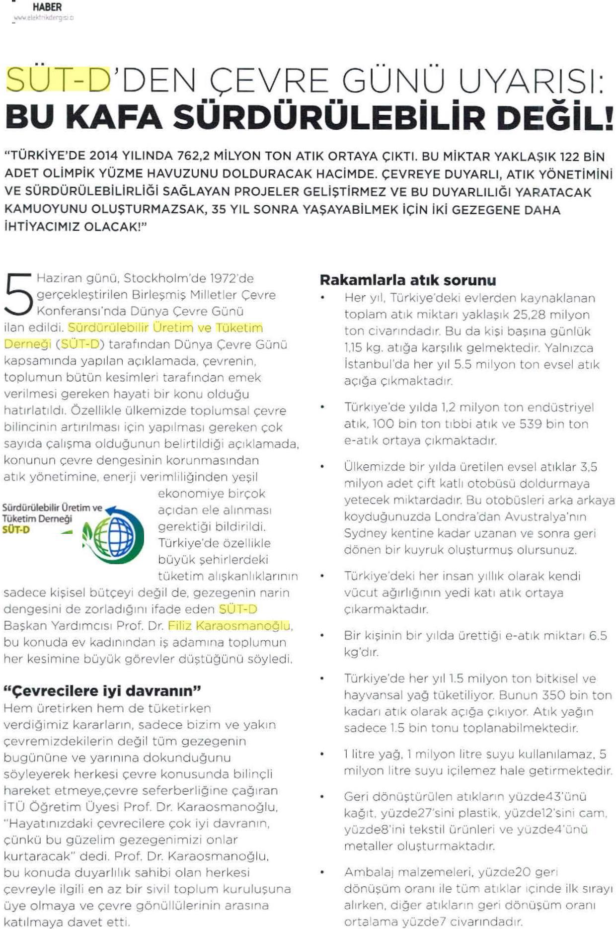 Kaynak Elektrik Dergisi 01.06.2015 2