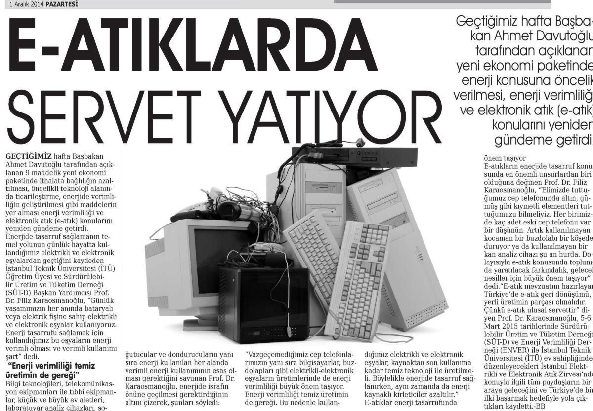 Kayseri Anadolu Haber 01.12.2014