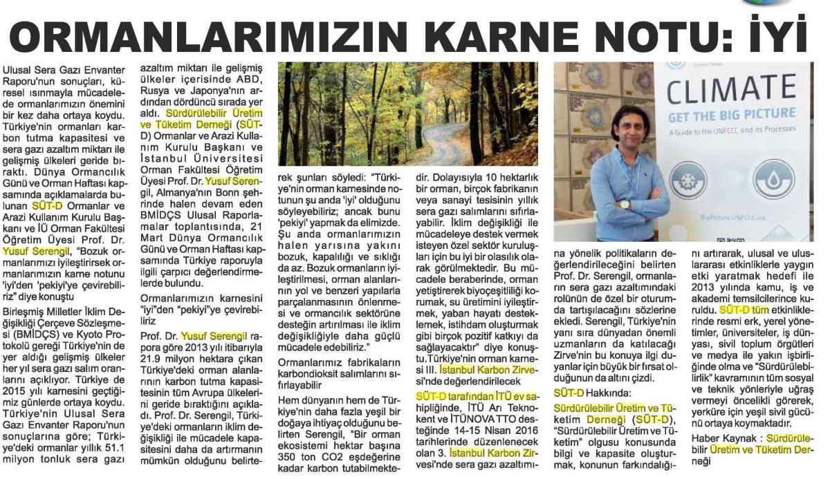 Kızılırmak Gazetesi 24.03.2016