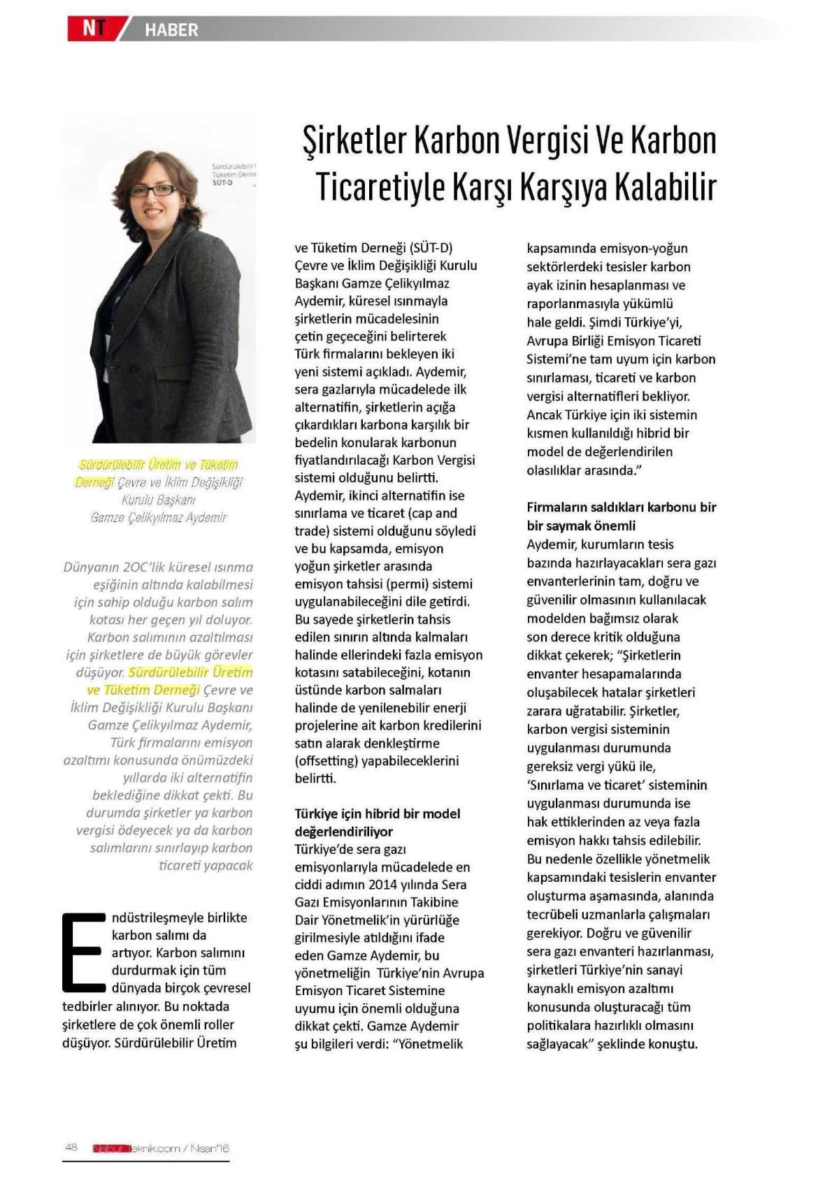 Nalbur Teknik 01.04.2016