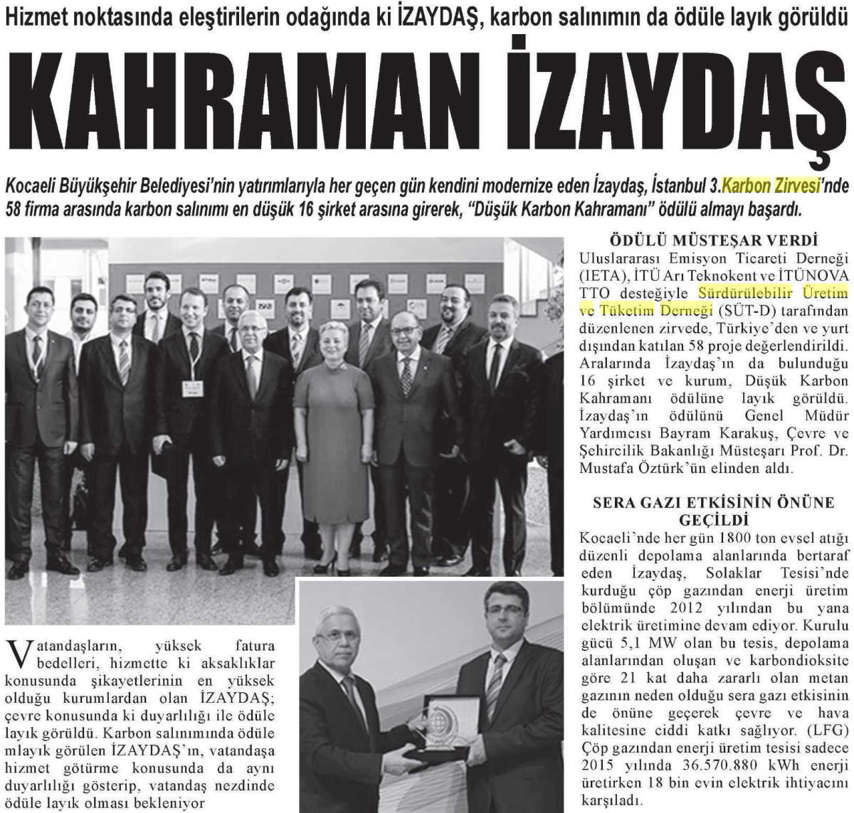 Nefes Gazetesi Gebze 30.04.2016