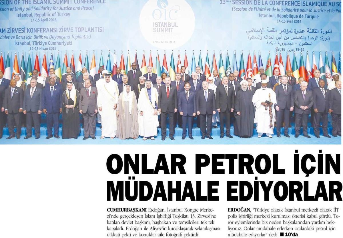 Orta Doğu Gazetesi 15.04.2016
