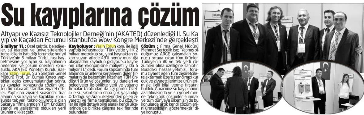 Sakarya Yenigün 03.10.2015