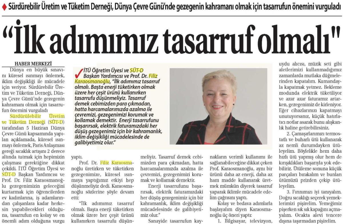 Ticaret Gazetesi 03.06.2016