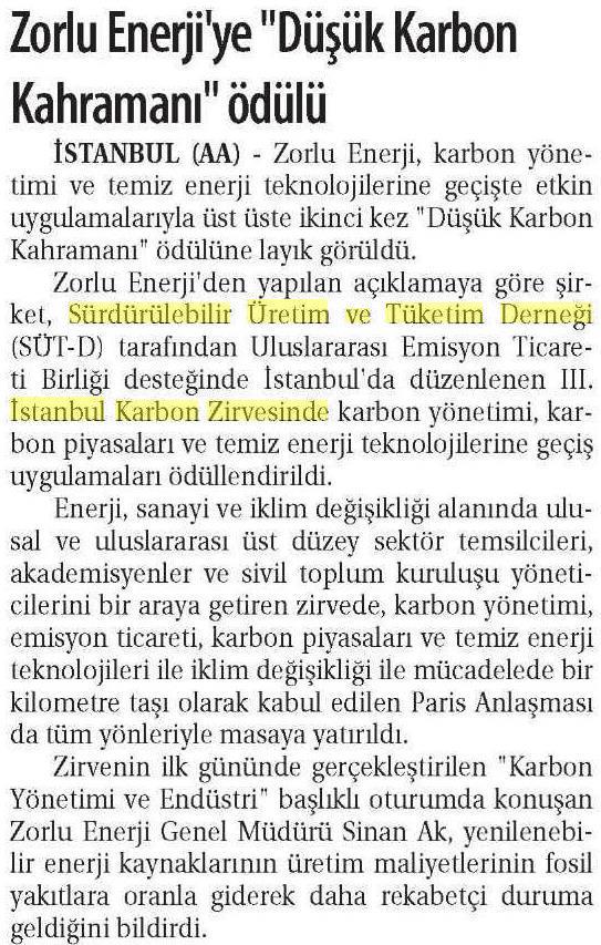 Ticaret Gazetesi 18.04.2016 1
