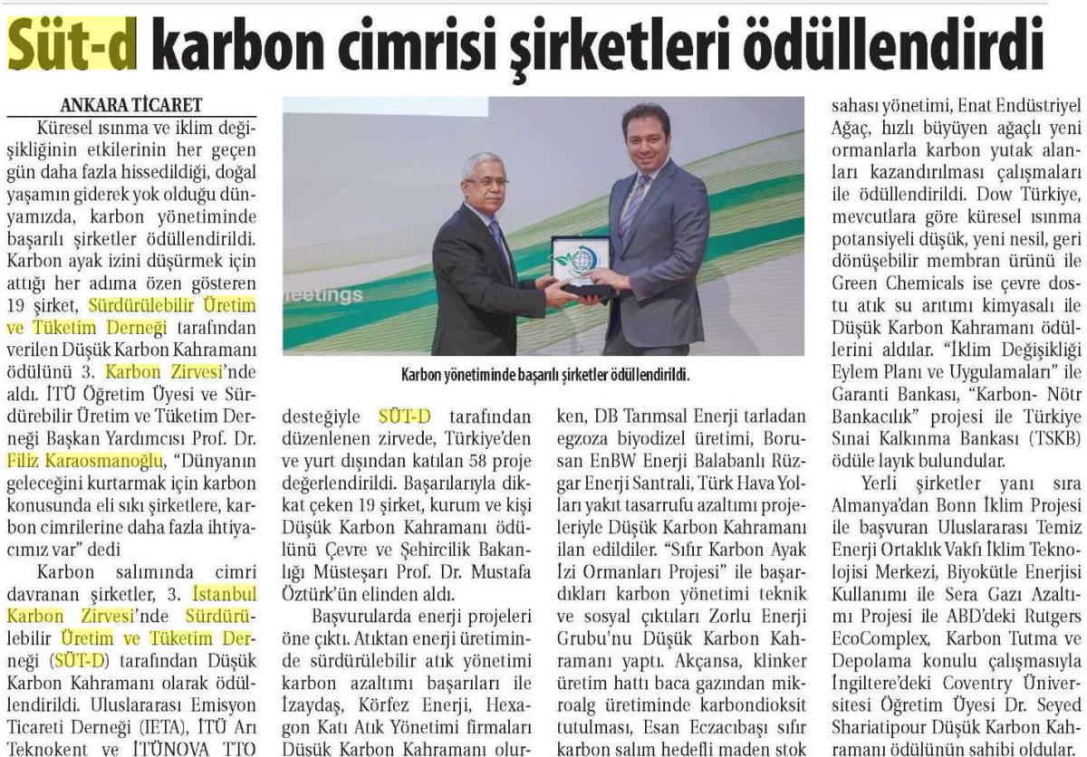Ticaret Gazetesi 18.04.2016 2