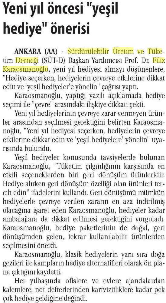 Ticaret Gazetesi 23.12.2015