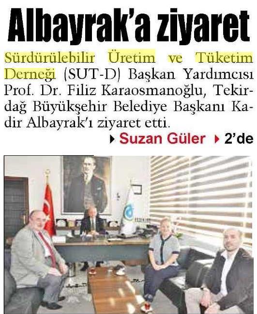 Trakya Gazetesi 07.04.2015