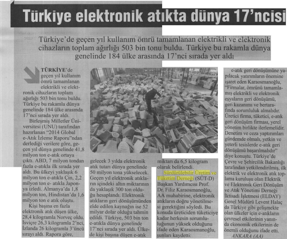 Turkiye'de Vakit 22.04.2015 s7