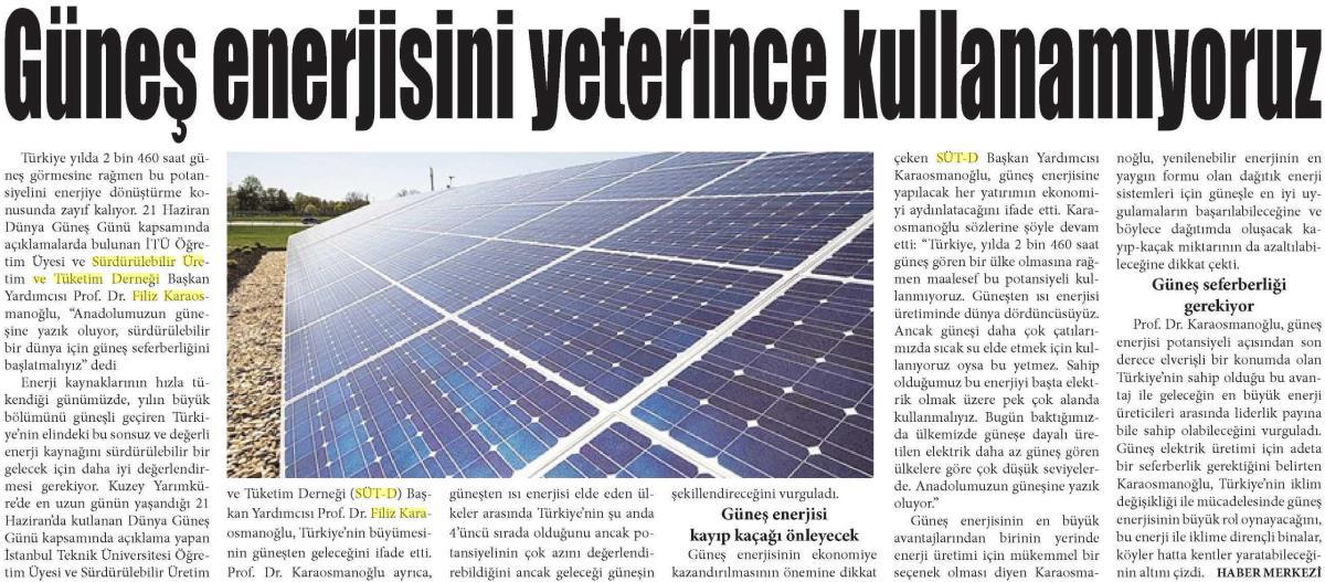 Yeni Ekonomi Gazetesi 22.06.2016