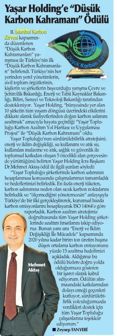 Yenigün İzmir 09.04.2015