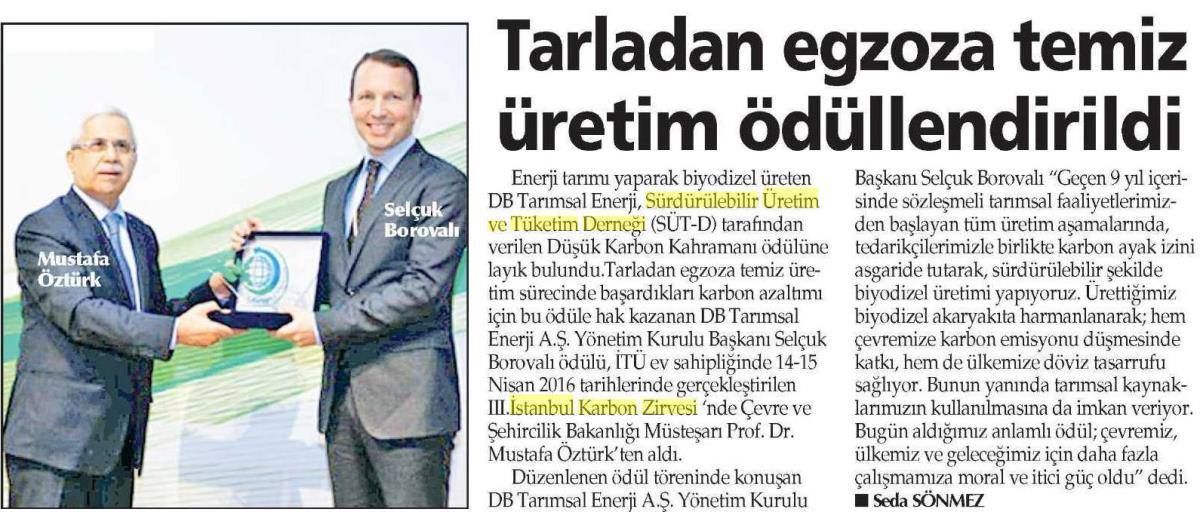Yenigün İzmir 28.04.2016