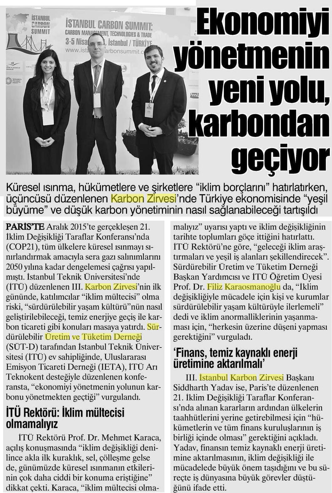 Yurt Gazetesi 16.04.2016