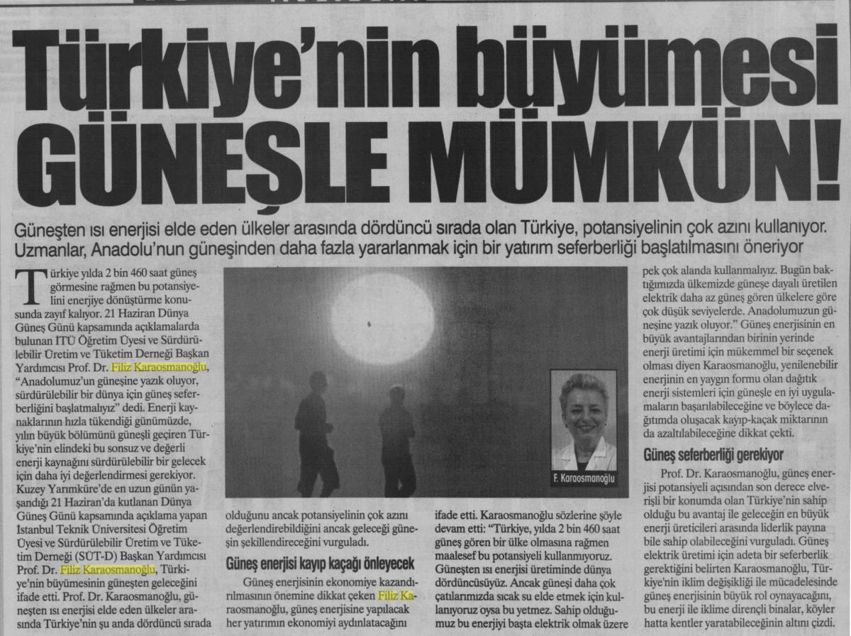 Yurt Gazetesi 21.06.2016