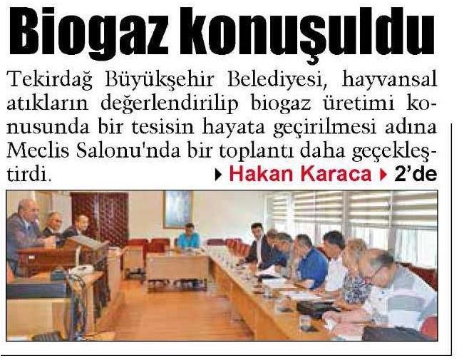 Trakya Gazetesi 06.07.2015 s1