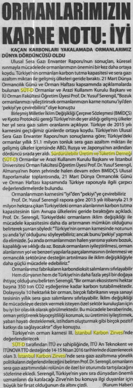 Kayseri Hakimiyet 21.03.2016