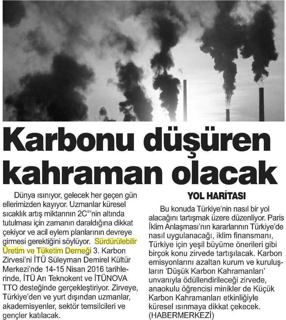 Kent Gazetesi Bursa 22.03.2016