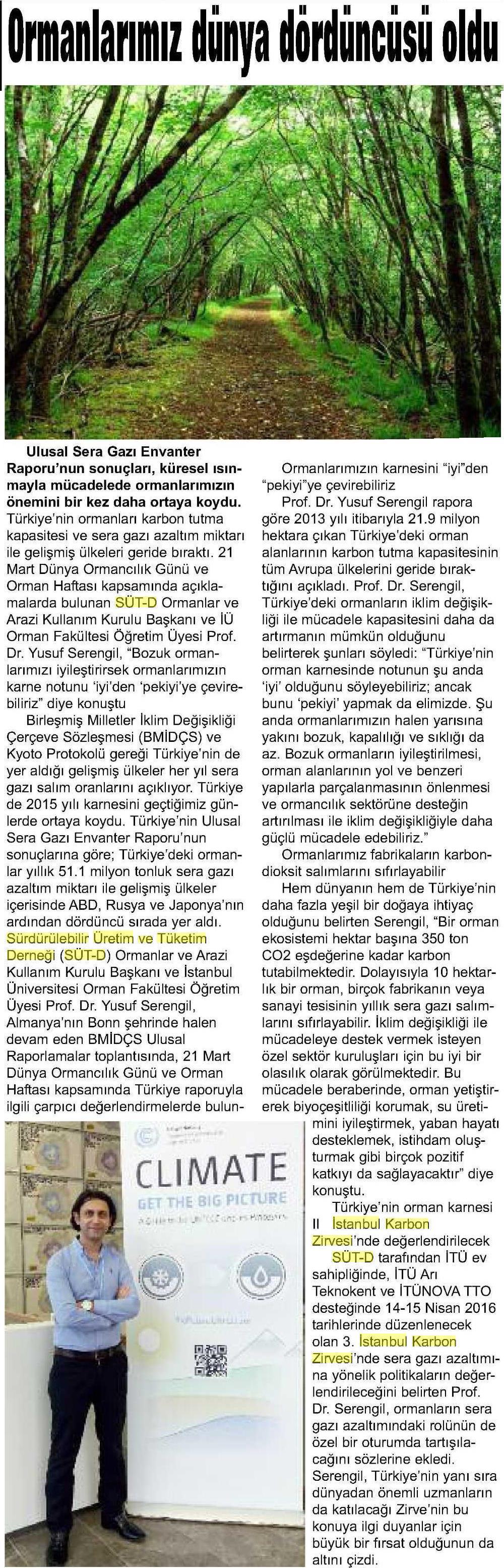 Objektif Gazetesi Amasya 21.03.2016