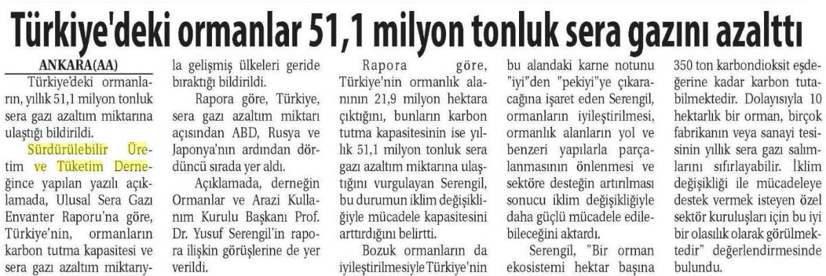 Ticaret Gazetesi 21.03.2016