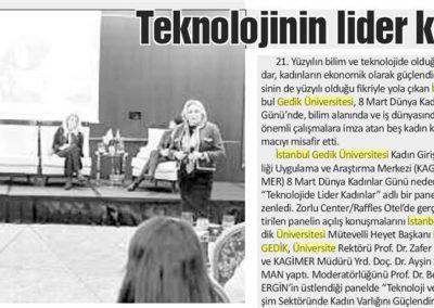 İstanbul Gazetesi 10.03.2018