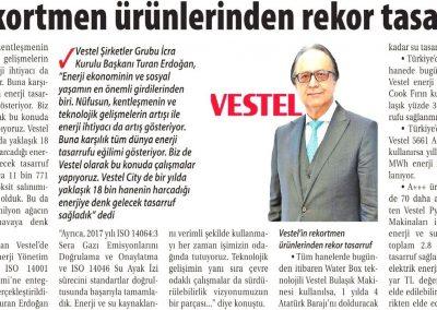 Ticaret Gazetesi (İzmir) 05.06.2018