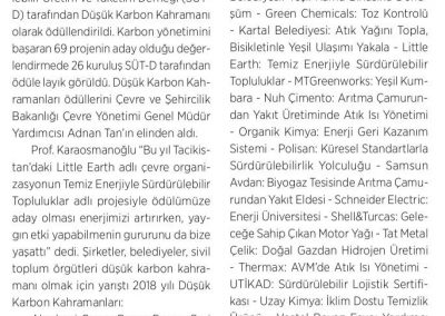 Enerji ve Çevre Dünyası 01.05.2018