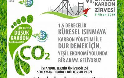6. İstanbul Karbon Zirvesi